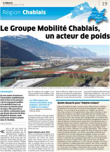 Le Régional - 18 mars 2015