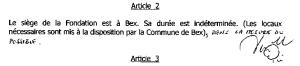 Article 2 des statuts