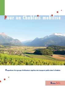 Mobilité dans le Chablais - 2010