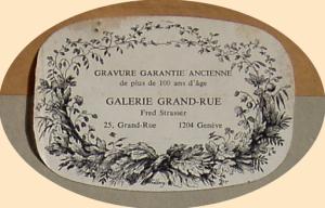 Galerie Grand-Rue à Genève